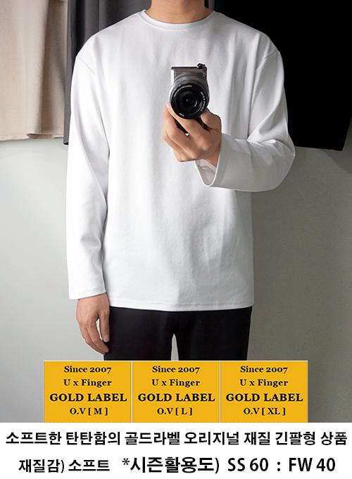 18-19 [G.LABEL] 하프.세미오버핏 롱슬리브 - 15color /19-최종입고완료(10.28)/