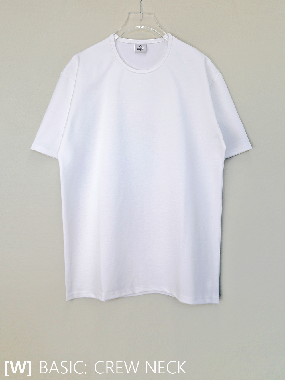 20-21ss [WHITE LABEL] 베이직핏) 크루넥 - 5color